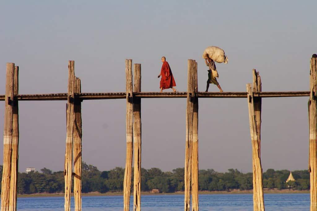 Ubend Bridge Myanmar evisa