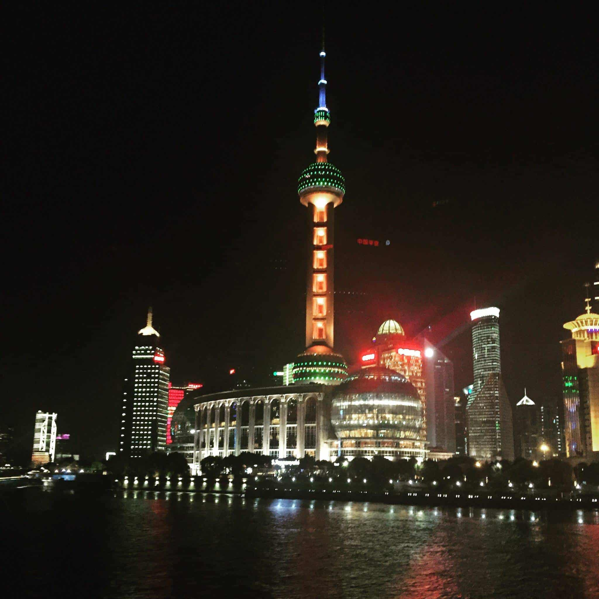 cruising the bund