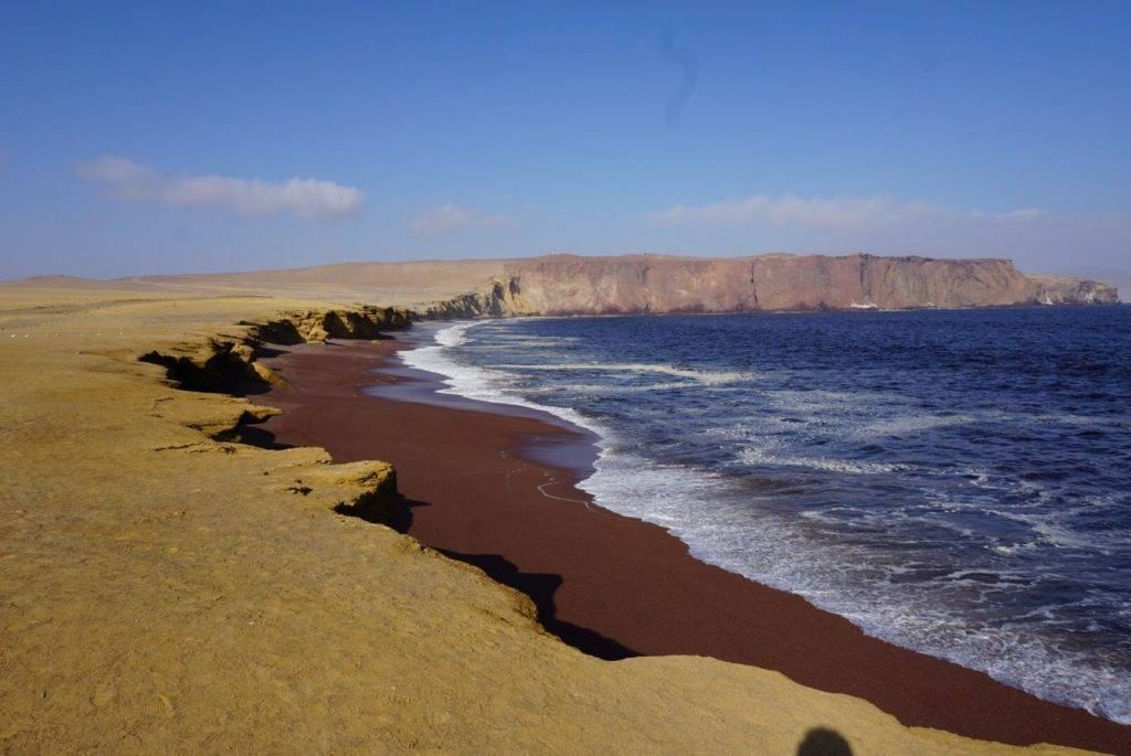 The reserve in Paracas Peru
