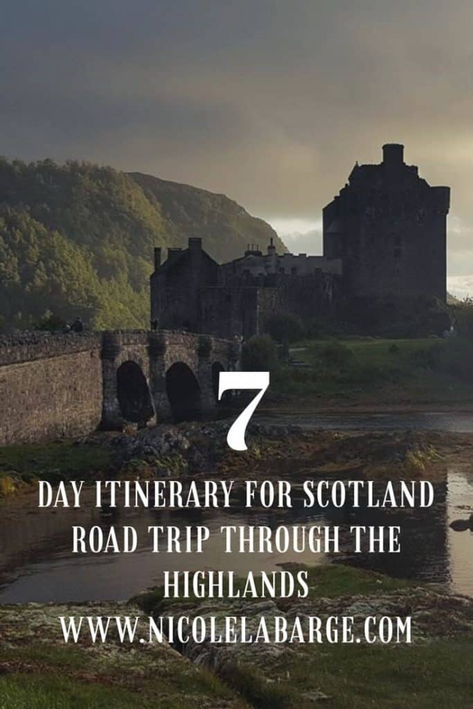 Scotland Itinerary 7 days