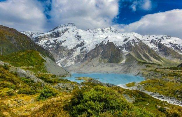 Alpine Lakes South Island New Zealand Itinerary