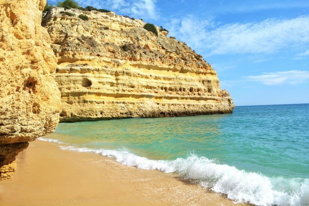 Praia Marinha - beaches of lagos portugal