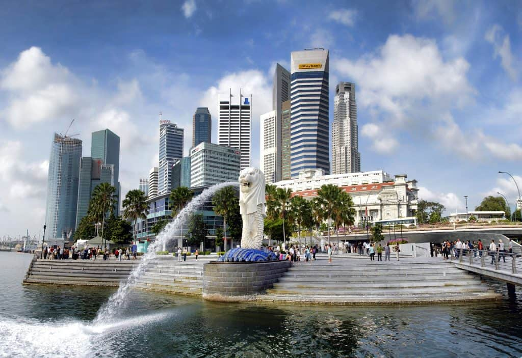 Merlion Park Instagrammable Places in Singapore