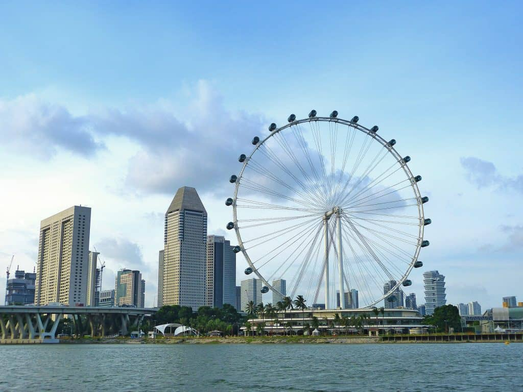 Singapore Flyer another Instagrammable Places in Singapore