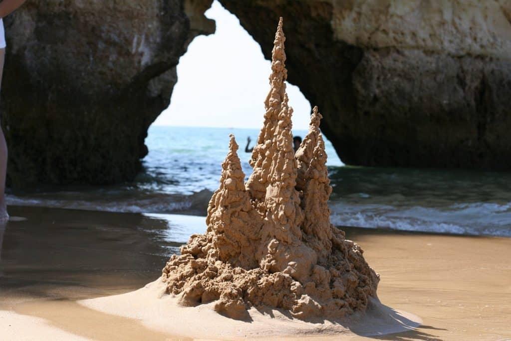 Sea Cave in Algarve
