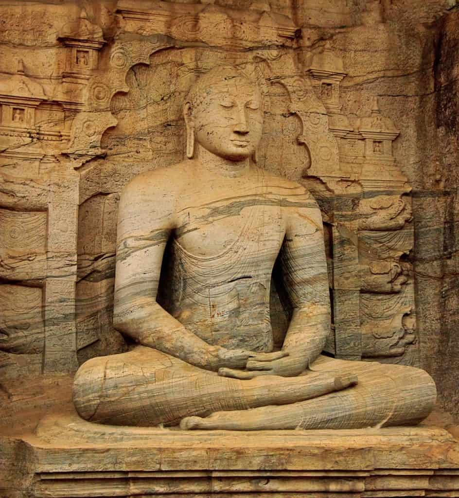 Gal Vihara stop on this 2 week Sri Lanka Itinerary