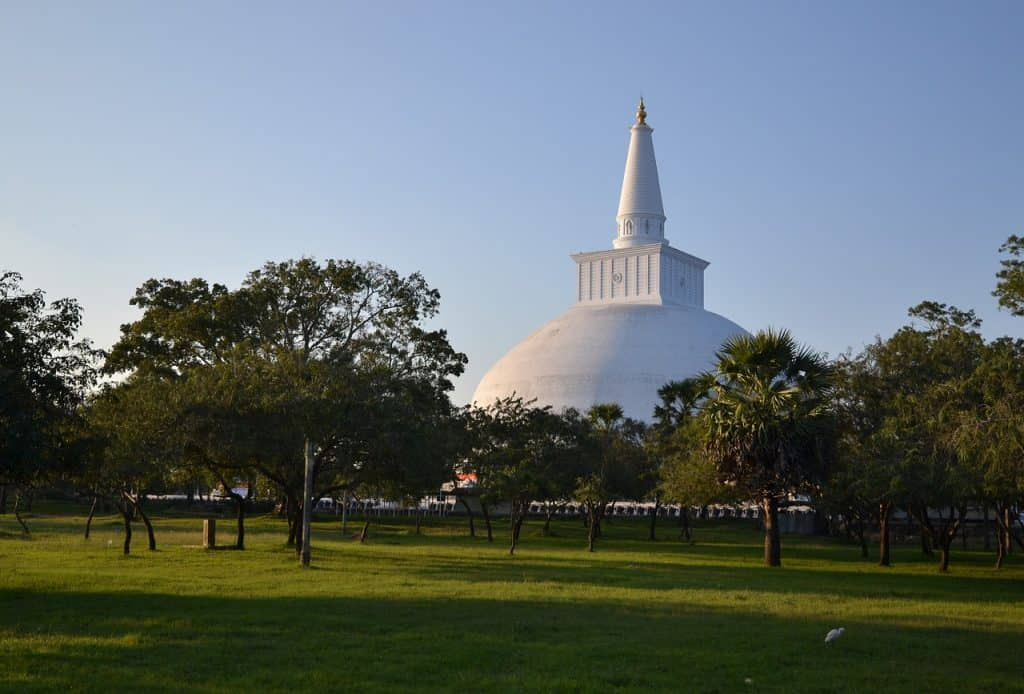Anuradhapura first stop on this 2 week Sri Lanka Itinerary