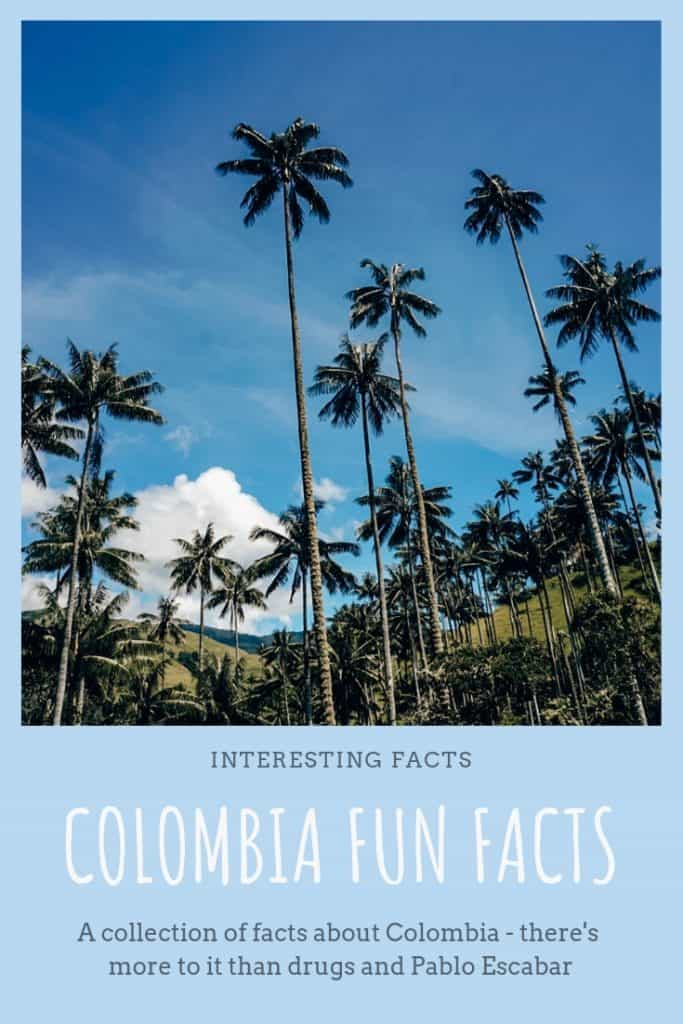 Colombia Fun Facts