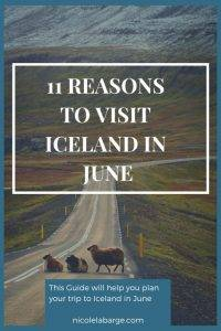Iceland in June