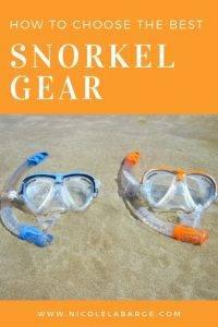 gear for snorkeling