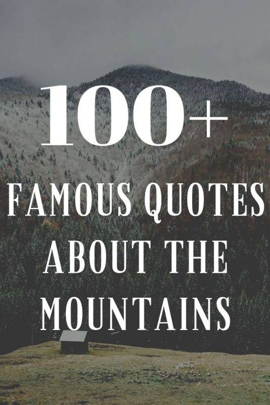 quotes mountains