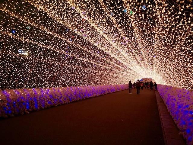 winter festival japan
