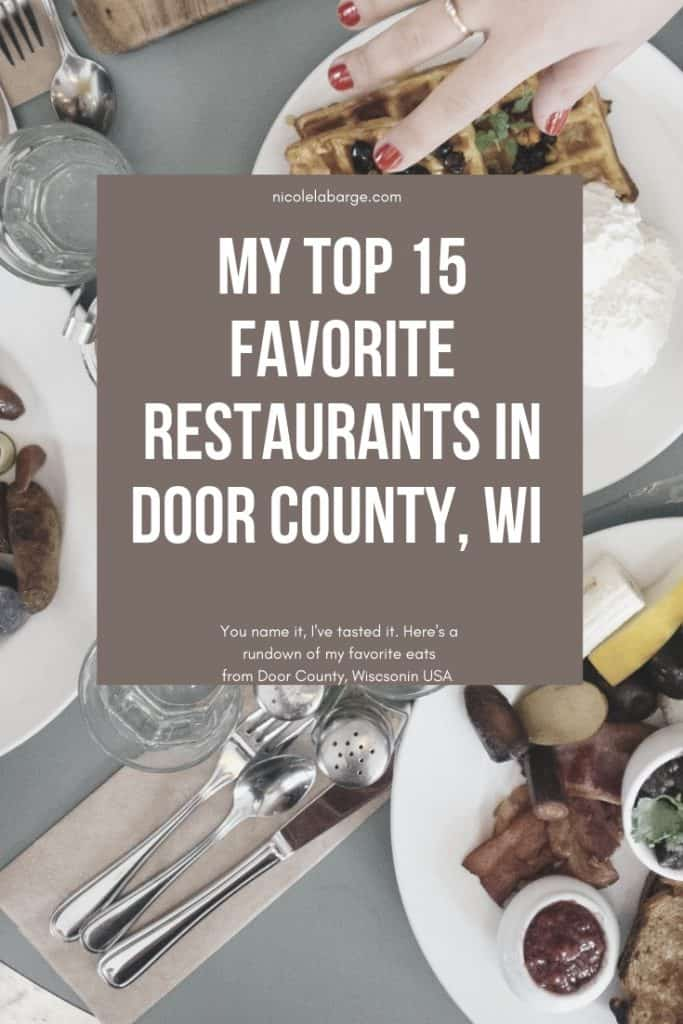 door county restaurants sturgeon bay restaurants