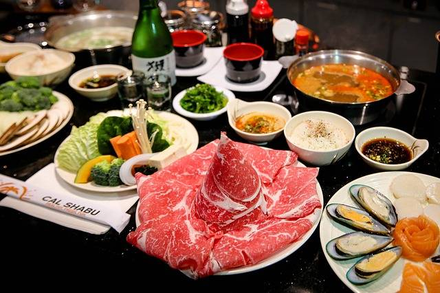 Shabu Shabu japan at winter