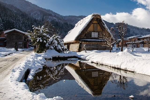 Japan in the winter