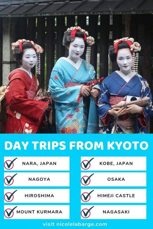 Day Trips from Kyoto Japan