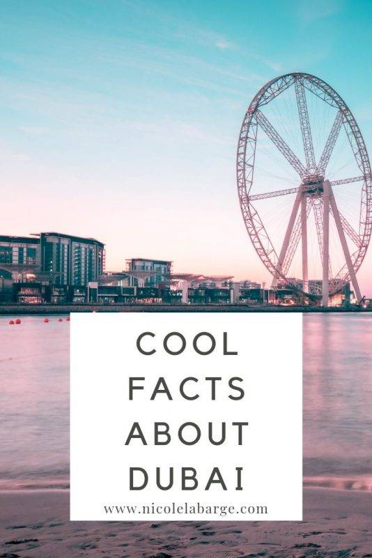 cool facts about Dubai