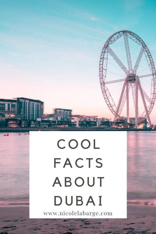 Dubai Facts: Interesting facts about Dubai - Travelgal Nicole