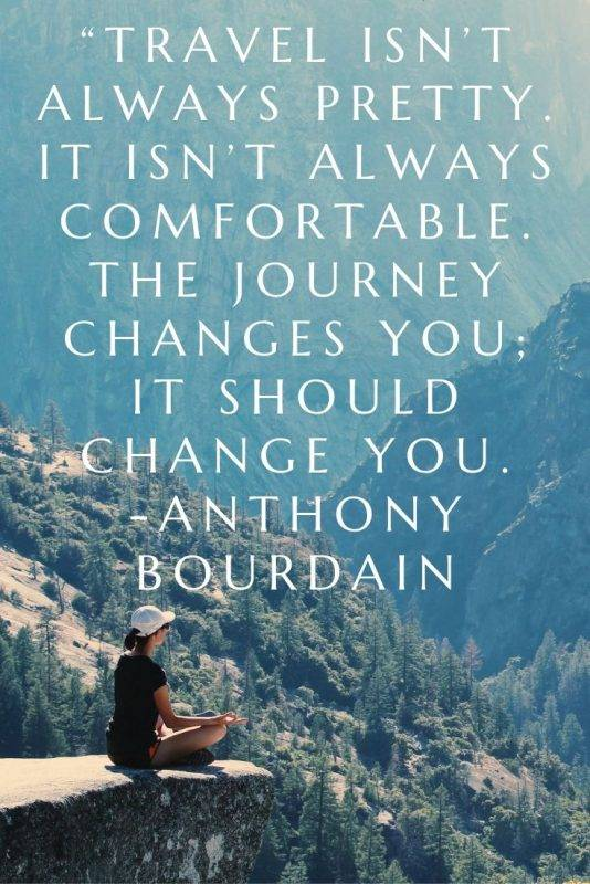 Inspirational quotes on journey