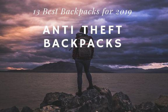 top anti theft backpack