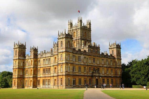 Highclere Castle near London