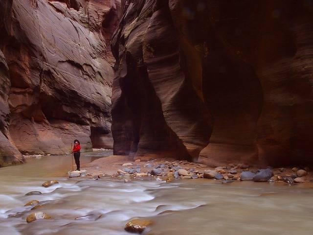 Zion slot canyons utah