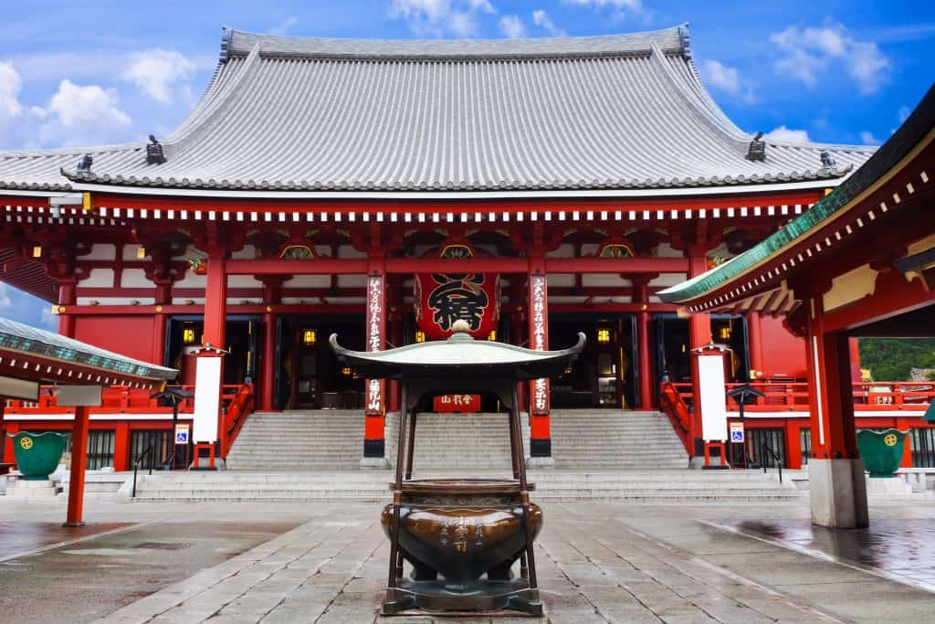 Landmark in Japan 	4 days itinerary in tokyo