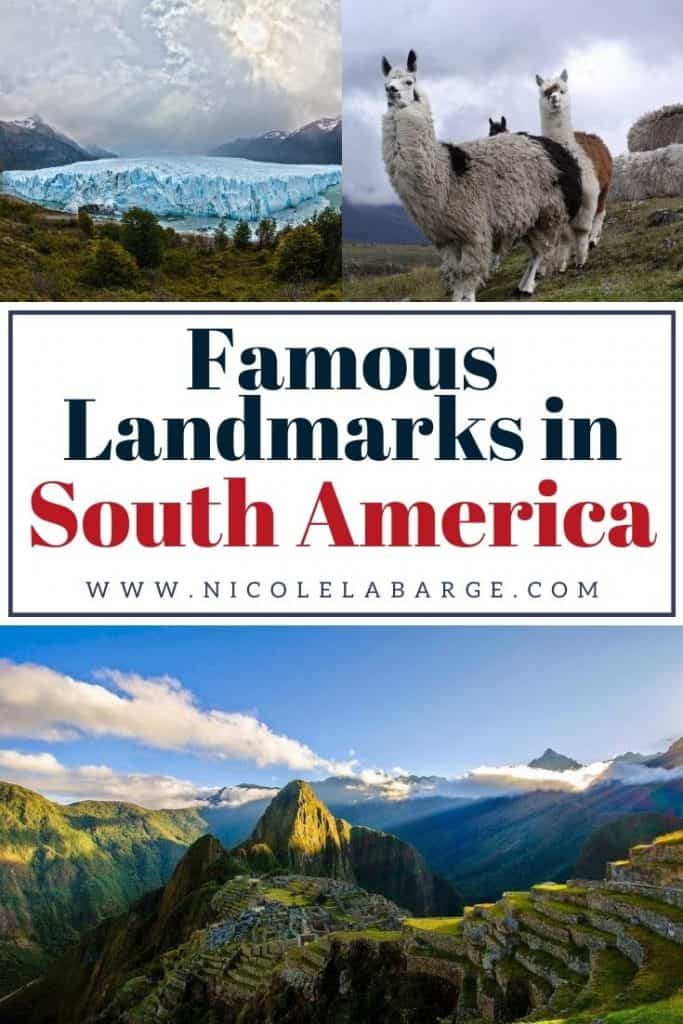 landmarks in south america